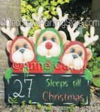 Xmas count Down (Three) ePattern - Anne Cahill - PDF DOWNLOAD