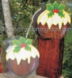 Xmas Pudding Set ePattern - Anne Cahill - PDF DOWNLOAD