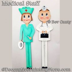Medical Staff Ornament PDF DOWNLOAD - Bev Canty