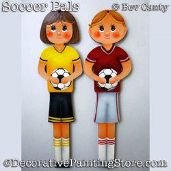 Soccer Pals Ornaments PDF DOWNLOAD - Bev Canty