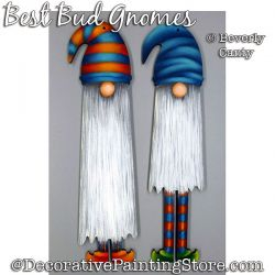 Best Buds Ornament (Gnomes) PDF DOWNLOAD - Bev Canty