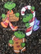 Frog Ornaments - Lori Cagle - PDF DOWNLOAD