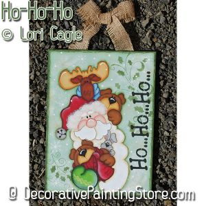 Ho-Ho-Ho - Lori Cagle - PDF DOWNLOAD