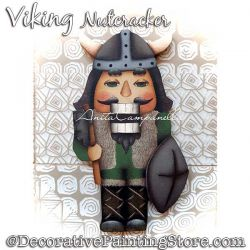 Viking Nutcracker Ornament Painting Pattern PDF DOWNLOAD - Anita Campanella
