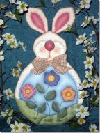 Bloomin Bunny Plaque Pattern
