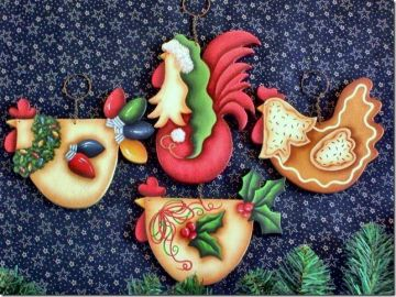 Funky Christmas Chickens ePacket