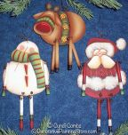 Christmas Danglers Ornaments Pattern BY DOWNLOAD