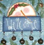 Welcome Snowie Sign Pattern BY DOWNLOAD