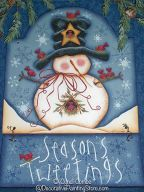 Seasons Tweetings Sign Pattern BY DOWNLOAD