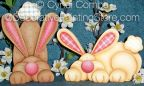Silly Wabbits Pattern - Cyndi Combs - BY DOWNLOAD