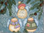 Sweet Snowie Angels Pattern - Cyndi Combs - PDF DOWNLOAD