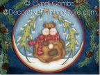 Wynter Woofer 8 inch Plate Pattern - Cyndi Combs - PDF DOWNLOAD