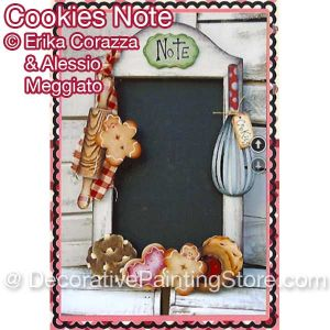 Cookie Notes ePattern - Corazza-Meggiato - PDF DOWNLOAD