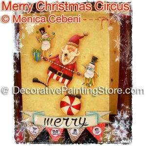 Merry Christmas Circus - Monica Cebeni - PDF DOWNLOAD