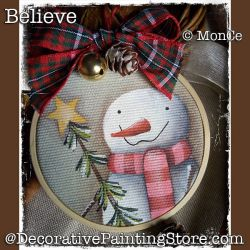 Believe Snowman - Monica Cebeni - PDF DOWNLOAD