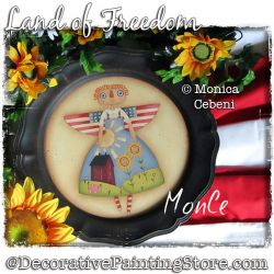 Land of Freedom (Raggedy Ann) Painting Pattern PDF Download - Monica Cebeni