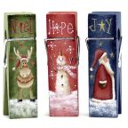 Christmas Mini Clothespin Memo Clips-Chris Haughey - PDF DOWNLOAD