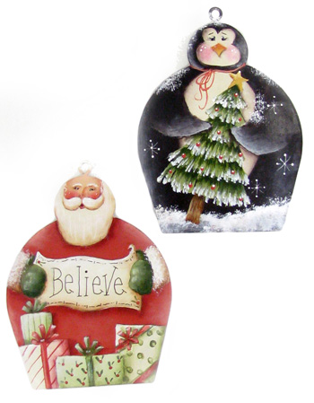 I Believe Cupcake Ornaments DOWNLOAD