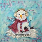 Snowtime is the Right time to Fall in Love e-Pattern  - Christy Hartman - PDF DOWNLOAD