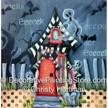 Enchanted Halloween Home e-Pattern - Christy Hartman - PDF DOWNLOAD