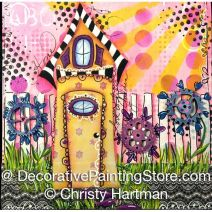 Summer Home Celebration of Family e-Pattern - Christy Hartman - PDF DOWNLOAD