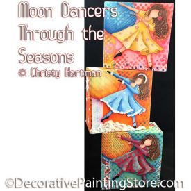 Moon Dancers Through the Seasons e-Pattern - Christy Hartman - PDF DOWNLOAD