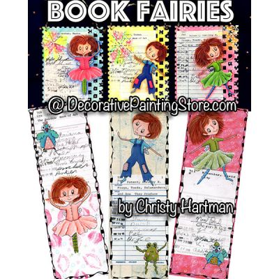 Book Fairies e-Pattern - Christy Hartman - PDF DOWNLOAD