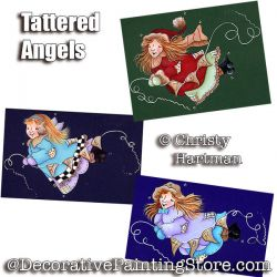 Tattered Angels e-Pattern - Christy Hartman - PDF DOWNLOAD