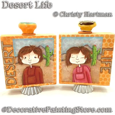Desert Life e-Pattern - PDF DOWNLOAD - Christy Hartman