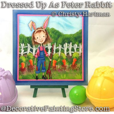 Dressed Up As Peter Rabbit e-Pattern - PDF DOWNLOAD - Christy Hartman