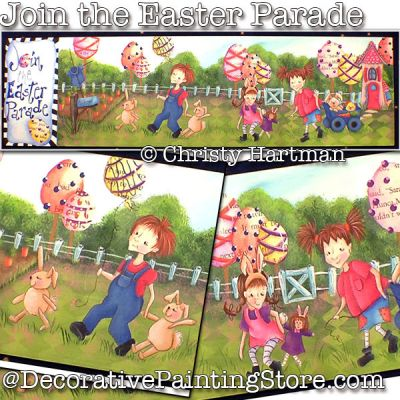 Join the Easter Parade e-Pattern - PDF DOWNLOAD - Christy Hartman