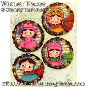 Winter Faces DOWNLOAD - Christy Hartman