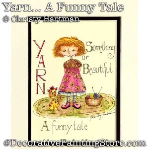 Yarn-A Funny Tale-Elise Loves Knitting DOWNLOAD - Christy Hartman
