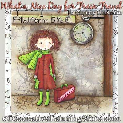 Prudence-Nice Day for Train Travel DOWNLOAD - Christy Hartman