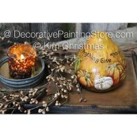 In Everything Give Thanks Gourd ePattern - Kim Christmas