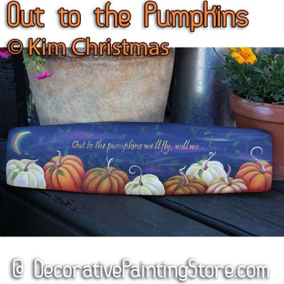 Out to the Pumpkins ePattern - Kim Christmas