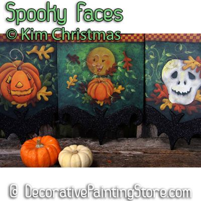 Spooky Faces ePattern - Kim Christmas
