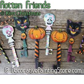 Rotten Friends Halloween Keys ePattern - Kim Christmas