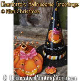 Charlottes Halloweenie Greetings ePattern - Kim Christmas