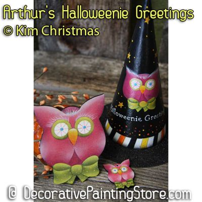 Arthurs Halloweenie Greetings ePattern - Kim Christmas