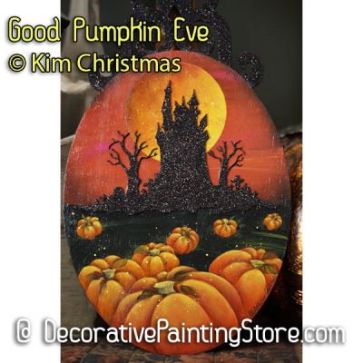 Good Pumpkin Eve ePattern - Kim Christmas