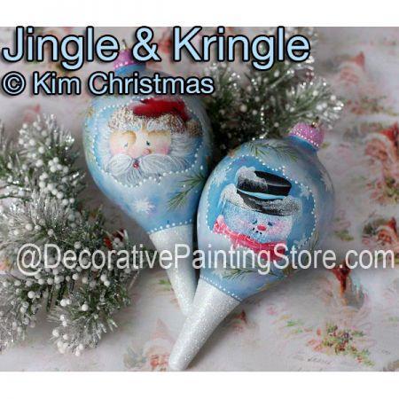 Jingle and Kringle ePattern - Kim Christmas