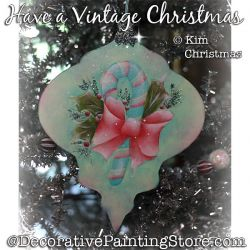 Have a Vintage Christmas Ornament ePattern - Kim Christmas