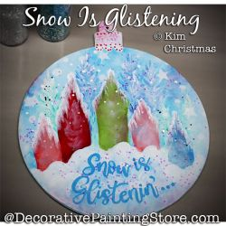 Snow Is Glistening Ornament ePattern - Kim Christmas