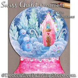 Swiss Chalet Ornament ePattern - Kim Christmas