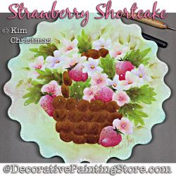 Strawberry Shortcake Box Painting Pattern PDF Download - Kim Christmas