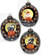 Halloween Bell Ornaments Pattern BY DOWNLOAD