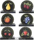 Fruit Coasters Pattern-Chris Haughey - PDF DOWNLOAD