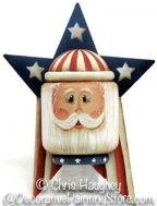 Uncle Sam Pin Pattern-Chris Haughey - PDF DOWNLOAD
