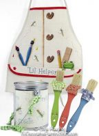 Little Helper Painter Apron and Accessories Pattern BY DOWNLOAD